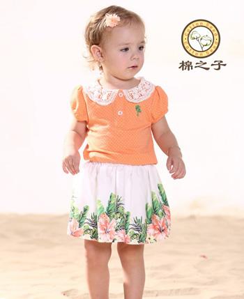 棉之子童装产品