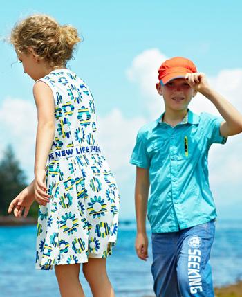 卡波树童装产品