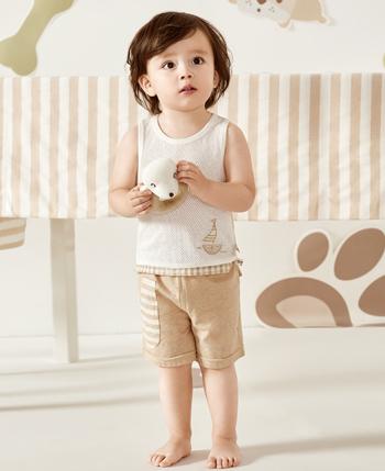 绿典彩棉童装产品