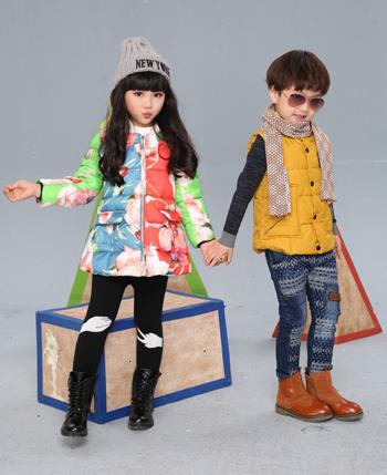 贝蕾地童装产品