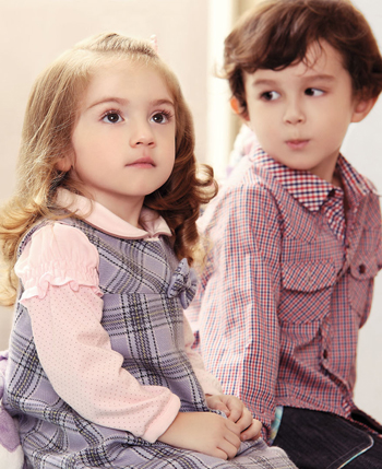 路西米儿童装产品