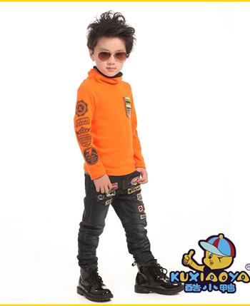 酷小鸭童装/童鞋产品展示
