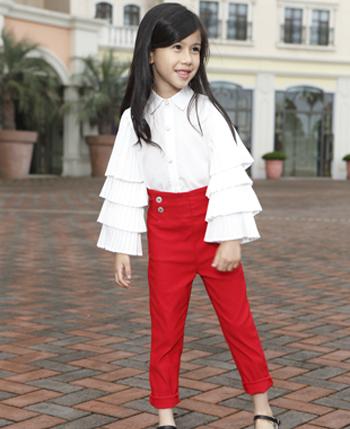 莉莉日记童装产品
