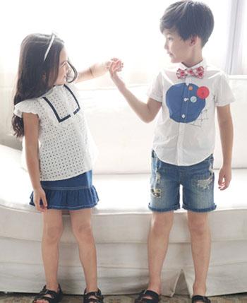 五月童品童装产品