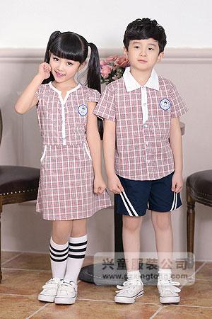 2016新款夏季幼儿园校服图片-兴童园服xt162309#ab