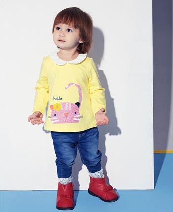 塔哒儿童装2016秋季新品