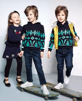 杰米兰帝童装产品