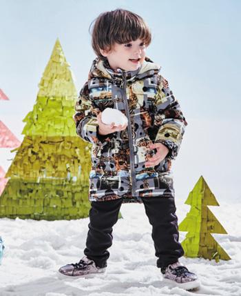 青蛙皇子2016冬季童装