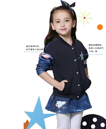 朋库一代童装产品展示