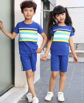 艾咪天使校园服装AM032夏季休闲运动学生套装