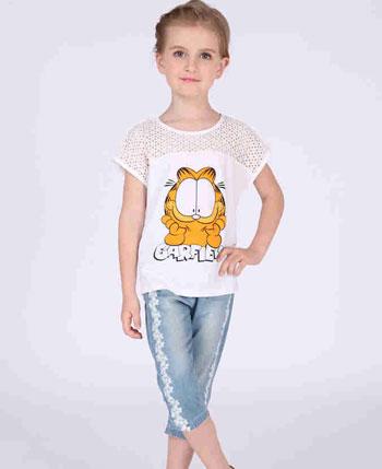 加菲猫2017夏季童装