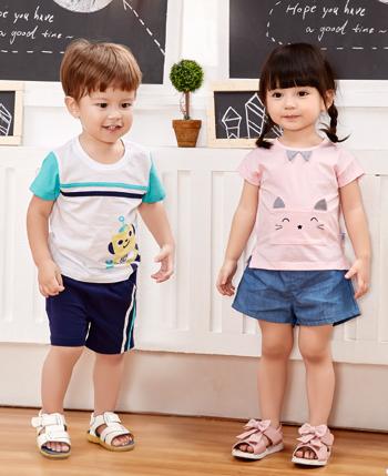 奇宝乐园童装产品展示