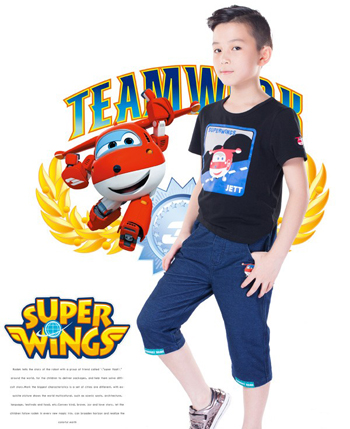 超级飞侠童装产品