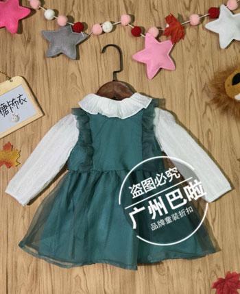 广州巴啦童装产品