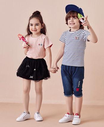 杰米蘭帝童裝產品
