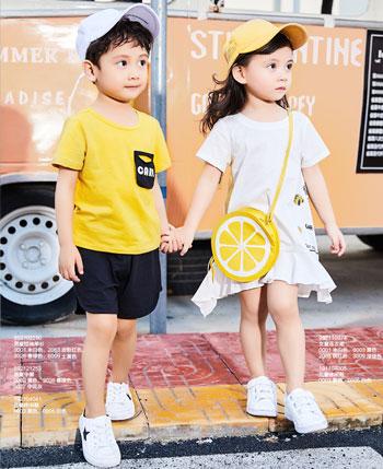 卡儿菲特童装产品