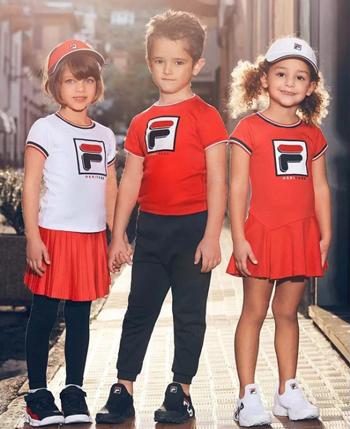意大利童装斐乐FILA KIDS产品系列