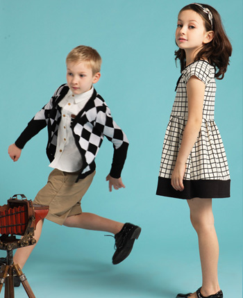 伊頓風尚童裝產品