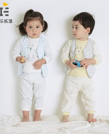 快乐城堡童装产品