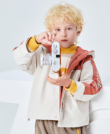 七彩搖籃童裝產品