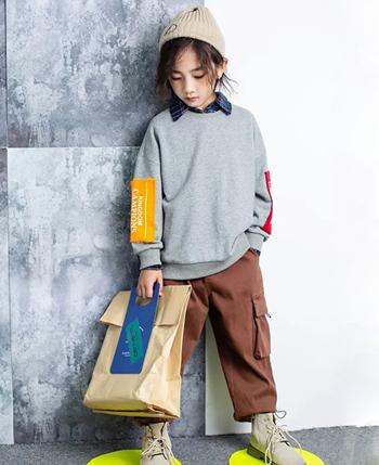 暖晞&吾未童裝產品