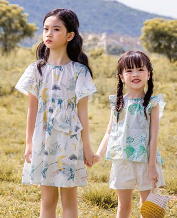 莳季童装产品