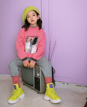 韩米娜童装产品