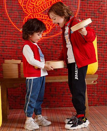 铅笔俱乐部童装产品