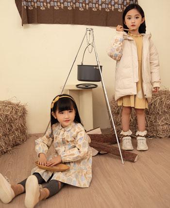 森虎兒童裝產品