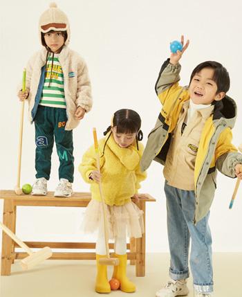 爱儿健童装产品