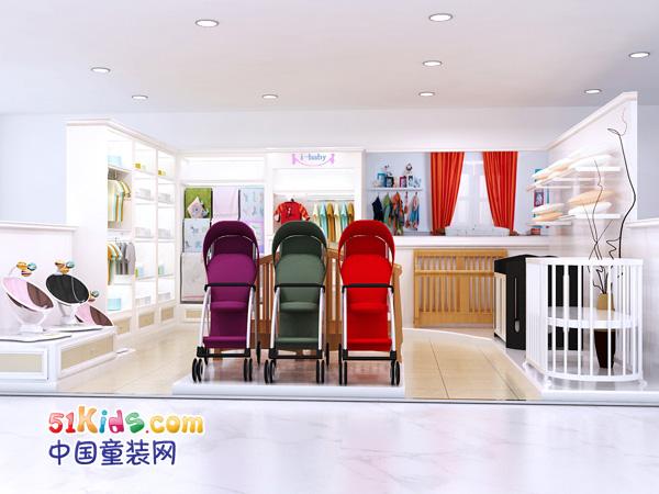 i-baby童装品牌店铺形象