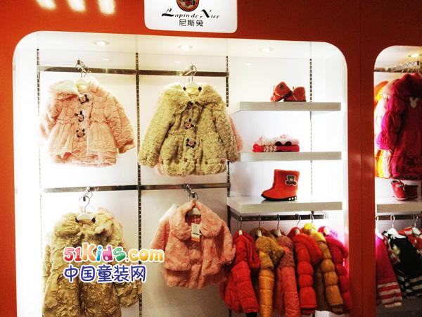 尼斯兔童装品牌店铺形象