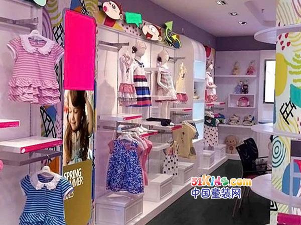 阿U童装品牌店铺形象