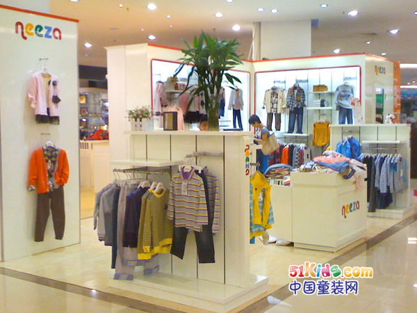 Neeza童装品牌店铺形象