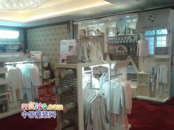 英氏婴童服饰用品童装品牌店铺形象
