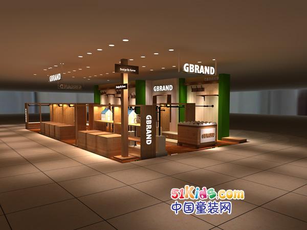 G-Brand童装品牌店铺形象