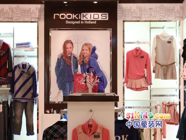 诺可可兹童装品牌店铺形象