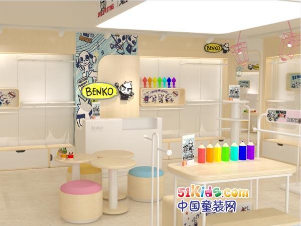 缤果童装品牌店铺形象