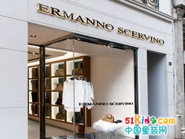 Ermanno Scervino童装品牌店铺形象