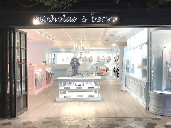 nicholas&bears童装品牌店铺形象