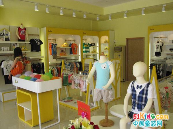小鸟嘟比童装品牌店铺形象