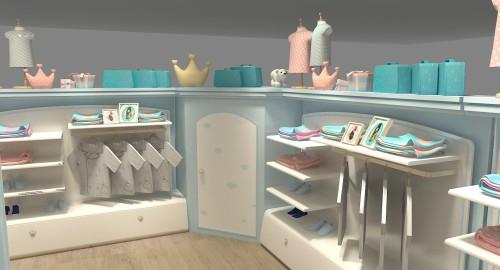 甜心皇冠童装品牌店铺形象