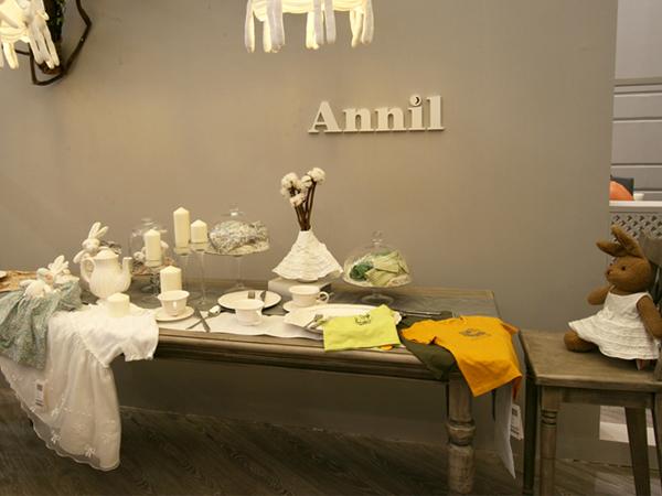 安奈兒童裝品牌店鋪形象