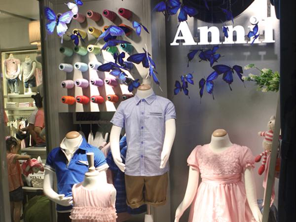 安奈儿童装品牌店铺形象