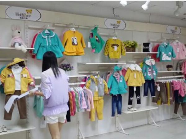 奈迪贝熊童装品牌店铺形象