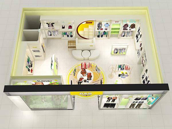 贝布熊童装品牌店铺形象