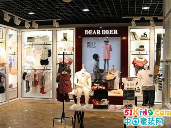 迪迪鹿童裝品牌店鋪形象