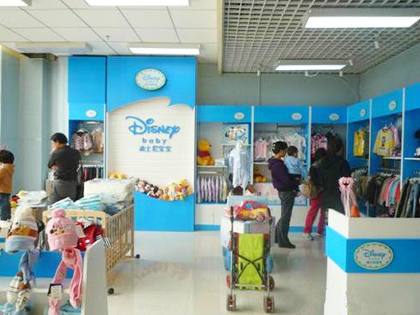 迪士尼宝宝童装品牌店铺形象