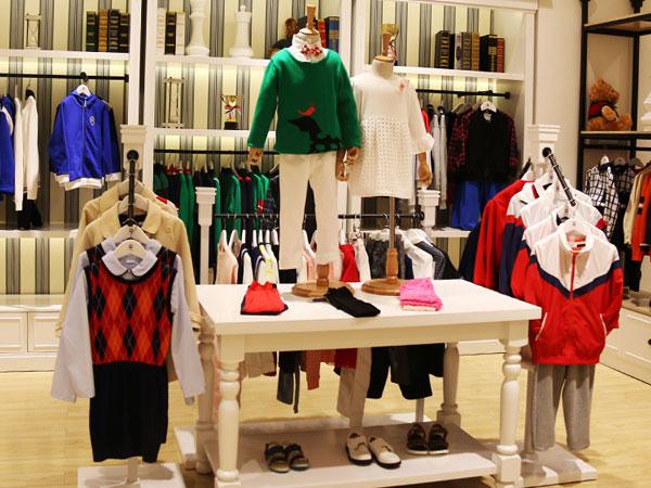 伊顿风尚童装品牌店铺形象