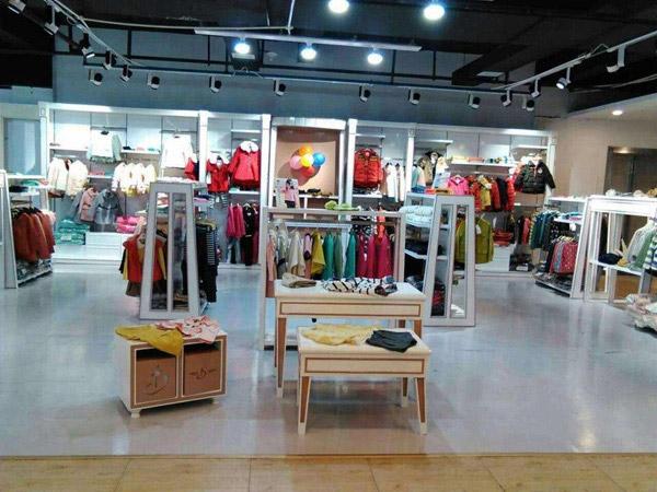 巴拉邦童装品牌店铺形象